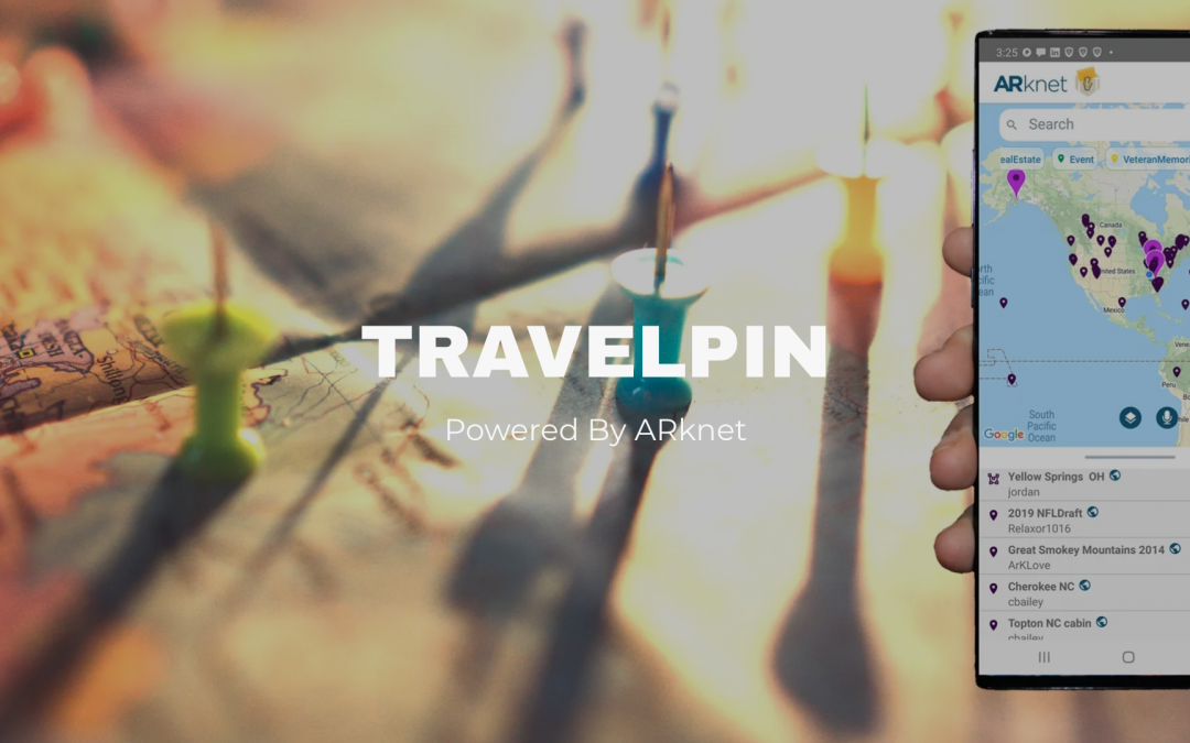 Tautachrome (OTC: TTCM) ARknet Launches TravelPin Enabling Users to Explore, Create, & Share Geo-Located Augmented Reality Pins of Travel Experiences